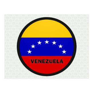 Venezuela Roundel quality Flag Post Card