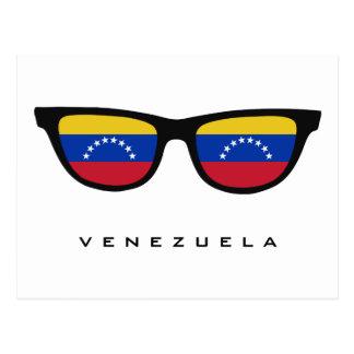 Venezuela Shades custom text & color postcard
