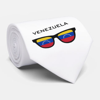 Venezuela Shades custom text & color tie