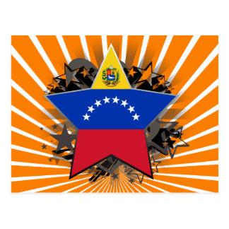 Venezuela Star Postcard
