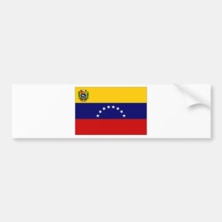 Venezuela State Flag Bumper Stickers
