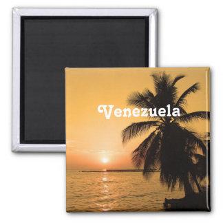 Venezuela Sunset Magnet