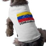 Venezuela Vintage Flag Pet Clothing