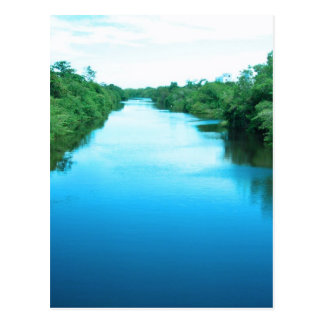 Venezuela Waterway Post Card