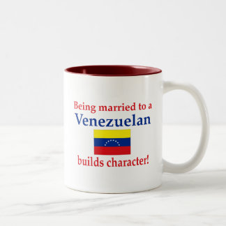 Venezuelan Builds  Character Two-Tone Coffee Mug