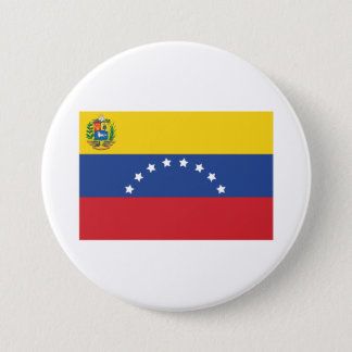 Venezuelan Flag Button