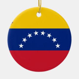 Venezuelan Flag - Flag of Venezuela - Bandera Christmas Ornament