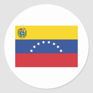 Venezuelan Flag Large Stickers