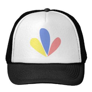 Venezuelan Flag Petals Cap Trucker Hat