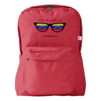 Venezuelan Shades custom backpacks
