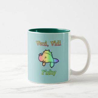Veni Vidi Fishy Coffee Mug