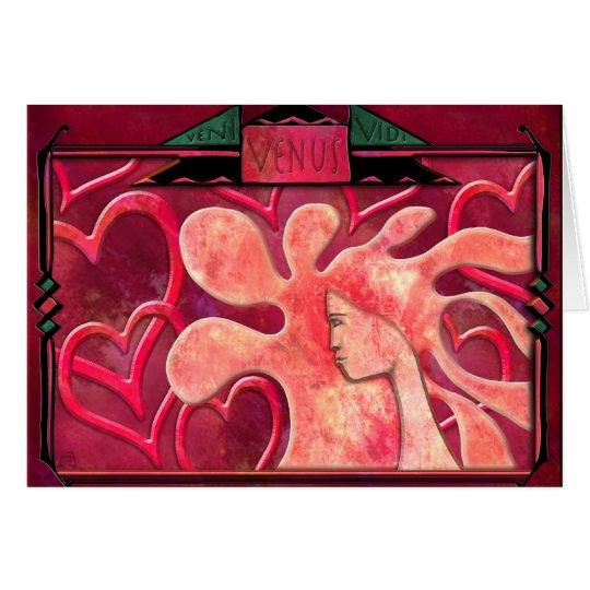 Veni Vidi Venus Card