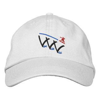 veni vidi vici snowboarder embroidered cap