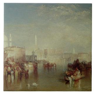 Venice, 1840 tile