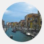 Venice 2 round stickers