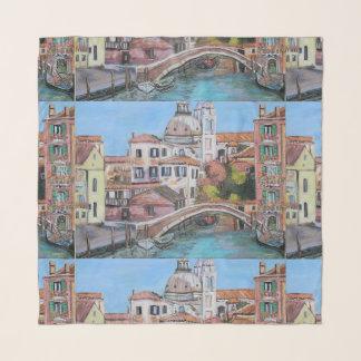 """Venice - 36"""" x 36"""" Square Scarf"""