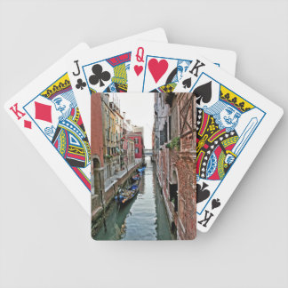 Venice Alleyway Bicycle Playing Cards