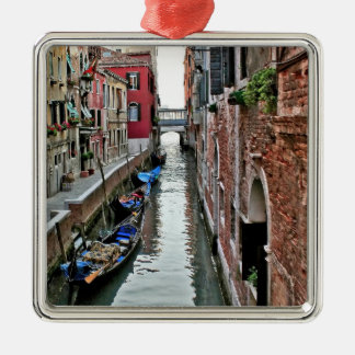 Venice Alleyway Christmas Ornament