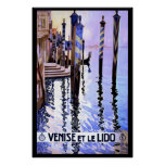 Venice and Lido Vintage Italian travel