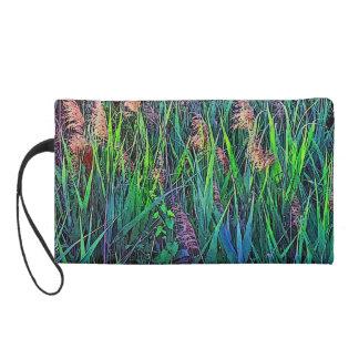 Venice At Home Bag - Tessera Grasses Wristlet Clutch