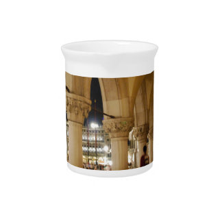 Venice at night drink pitcher