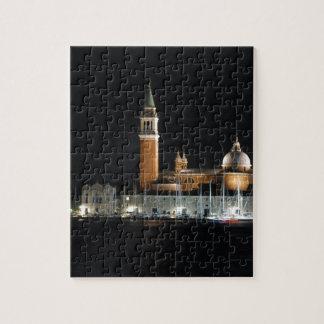 Venice at night jigsaw puzzle