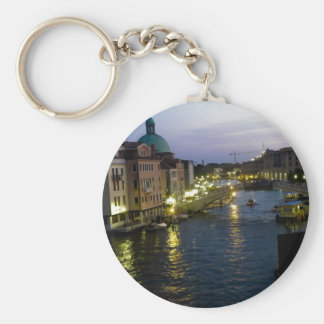 Venice at night key ring