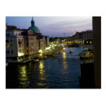 Venice at night post cards