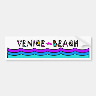 VENICE BEACH BUMPER STICKER