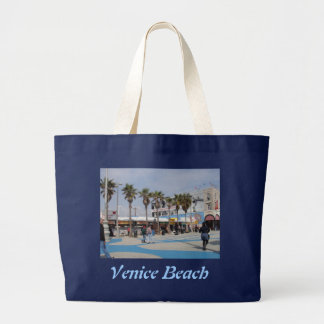 Venice Beach, California Large Tote Bag