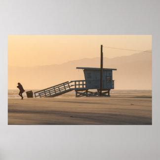 venice Beach, California poster