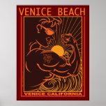 VENICE BEACH CALIFORNIA POSTERS