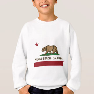 venice beach california state flag sweatshirt