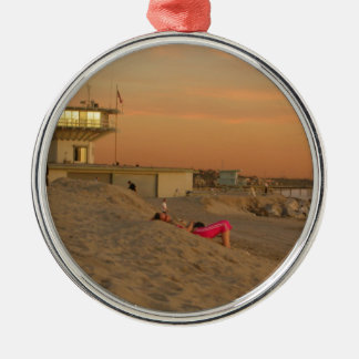 Venice Beach Christmas Ornament