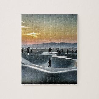 Venice Beach Skateboard Park Puzzle