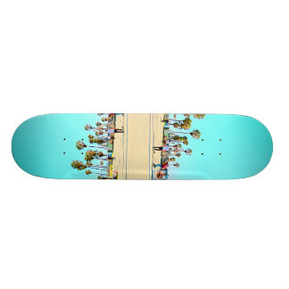 Venice Beach Skatepark 18.4 Cm Mini Skateboard Deck
