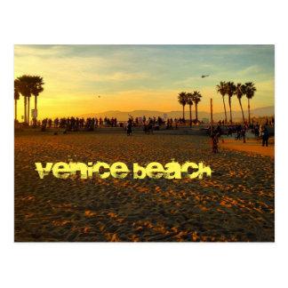 VENICE BEACH SKATEPARK SUNSET POSTCARD