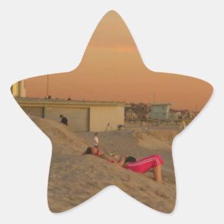 Venice Beach Star Sticker