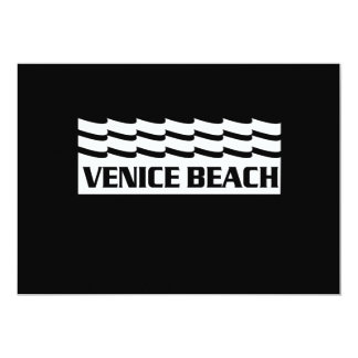 Venice Beach Waves Card