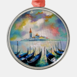 Venice before rain christmas ornament
