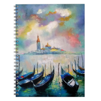 Venice before rain spiral notebook