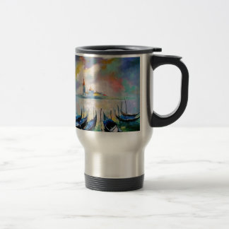 Venice before rain travel mug