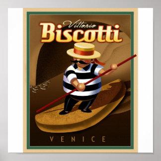 Venice Biscotti Poster
