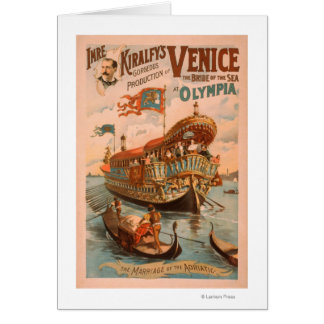 Venice, Bride of the Sea at Olympia Gondolas 3 Card