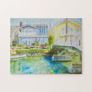 Venice Bridge Jigsaw Puzzle