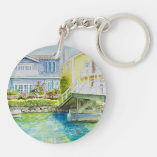 Venice Bridge Key Ring