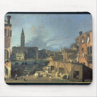 Venice: Campo San Vidal and Santa Maria Carita Mouse Pad