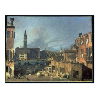 Venice: Campo San Vidal and Santa Maria Carita Postcard