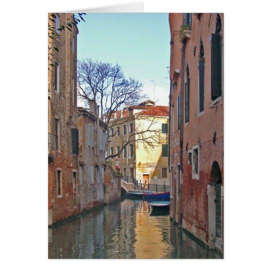 Venice - Canal Card