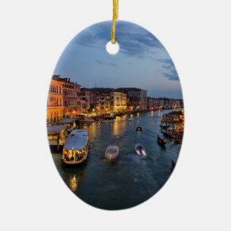 VENICE CANAL CHRISTMAS ORNAMENT